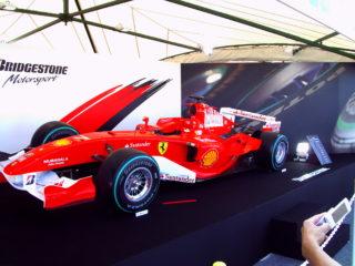フェラーリ F1マシン