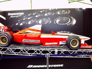 ブリヂストン F1マシン3