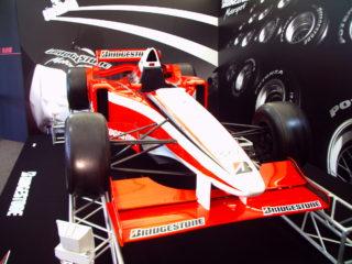 ブリヂストン F1マシン2