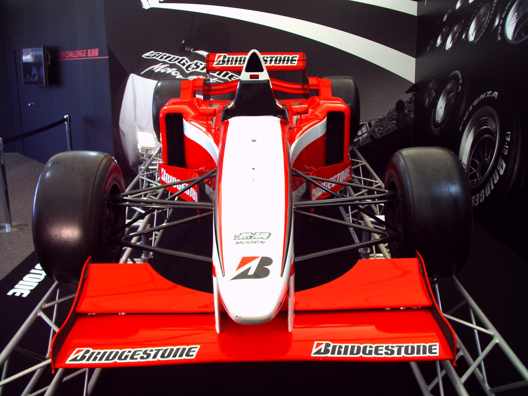 ブリジストン F1マシン
