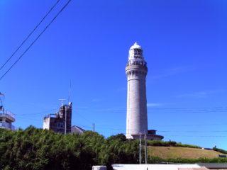 角島灯台 遠目