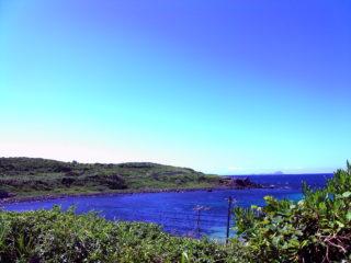 角島 小高い丘