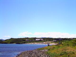 角島 しおかぜコバルトビーチ付近
