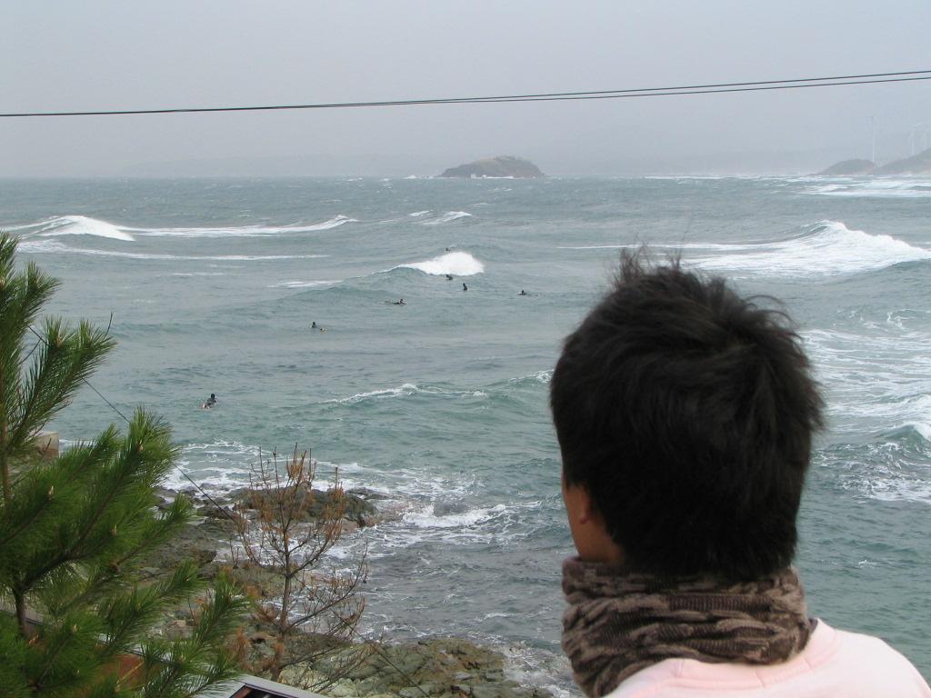 自己紹介 日本海 サーフスポット