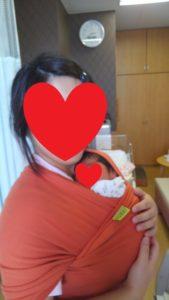 自己紹介 第一子出産