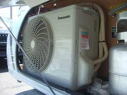 家庭用エアコン車